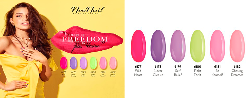 Colección colors of freedom by Julia wieniawa