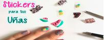 Stiker para uñas.