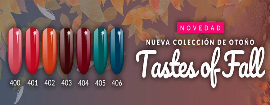 Colección Taste of Fall de Semilac